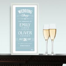 Personalised Prints for Weddings, Anniversaries and Births